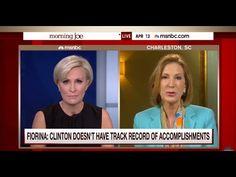 Morning Joe to Carly Fiorina: Who Are You to Criticize Hillary Clinton?