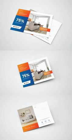 Postcard Template AI, EPS, PSD Postcard Template, Poster Templates