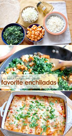 These delicious Indian enchiladas have great possibilities for adapting or tweaking.