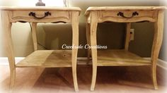 French County End Tables