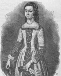 Sigrid of Sweden (1566 - 1633). Daughter of Eric XIV and Karin Mansdotter. She was born before her parents married. She married twice and had three children.