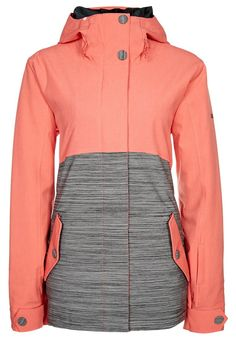 Roxy - FAST TIMES - snowboard jacket - hot coral. Now if only it was GoreTex...
