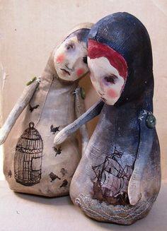 Caitlin & Bridget by gilfling