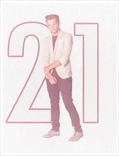 Happy 21st Birthday, Louis!