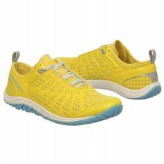 Yellow vegan tennis shoes! Women's MERRELL Crush Glove Yellow Shoes.com