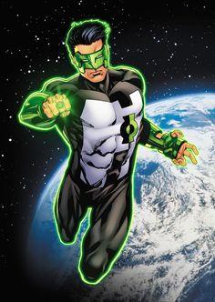 Green Lantern (Kyle Rayner) by Robert Atkins