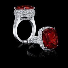 13.21 carat African Queen Ruby Ring from Robert Procop at Darren McClung, Palo Alto California