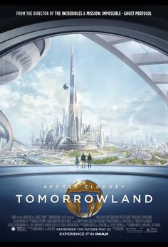 Tomorrowland Movie Review. A fun and entertaining movie for the entire family! You don't want to miss this one!