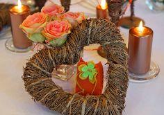 Winter wedding deko