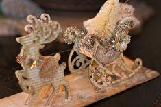 Sizzix Die Cutting Tutorial   Sleigh and Reindeer Decor by Jan Hobbins
