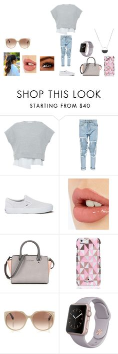 """""""Where?"""" by dreaming-of-a-better-tomorrow ❤ liked on Polyvore featuring 10 Crosby Derek Lam, Boohoo, Vans, Charlotte Tilbury, Kate Spade, Tom Ford and White House Black Market"""