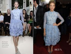 Brittany Snow In Georges Hobeika Couture - 'Pitch Perfect' LA Premiere