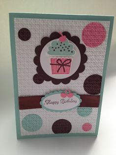 My Cards and Crafts: Create A Cupcake