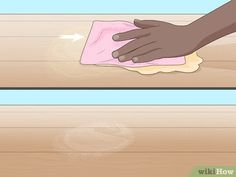 How to Get Water Stains Off Wood. Whether someone forgot to put a coaster down or you accidentally spilled a glass, water can create unsightly stains on wood floors and furniture. White Stain, White Wood, Water Stain On Wood, Water Stains, Dark Stains, Refurbished Furniture, How To Get, Flooring, Stains