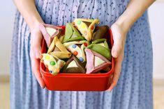פיית העוגיות: אוזני המן צבעוניות לפורים (מחומרים טבעיים!)