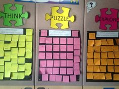Think puzzle explore What do you know? What puzzles you about this topic? What would you like to explore further?