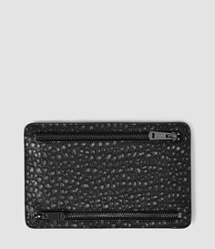 Womens Travel Currency Hold (Black Metallic) - product_image_alt_text_1