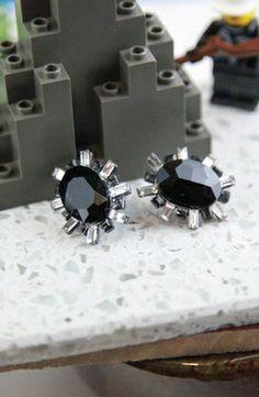 GUESS Baguette Framed Button Earring #accessories  #jewelry  #earrings  https://www.heeyy.com/suggests/guess-baguette-framed-button-earring-hematite-crystal/