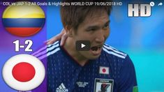 Colombia vs Japan Highlights 19 June 2018 FIFA World Cup Russia. Colombia's Carlos Sanchez gets World Cup's first red card as Japan cause Group H upset. World Cup Russia 2018, Fifa World Cup, Highlights, June, Japan, Sports, Colombia, Hs Sports, Luminizer