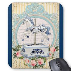 My First Carousel Second Edition Mouse Pad - baby gifts child new born gift idea diy cyo special unique design