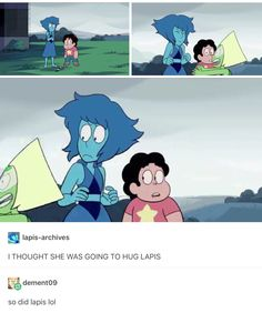 Lapis: this bitch...