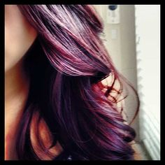 Violet ombre Hair color trends Fall 2014-2015