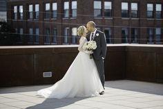 Tulsa wedding photography - adrian birdsong photography - romantic urban wedding