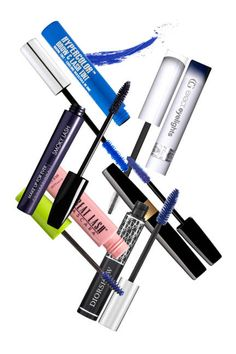 The best colored mascaras and how to wear them: blue