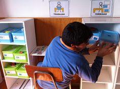 Cómo hacer una estación TEACCH en casa o en el aula - Atendiendo Necesidades