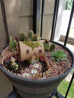 Desert Fairy Garden