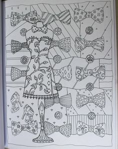 Fanciful Fashions Coloring Book Marjorie Sarnat 9780983740445 AmazonSmile Books