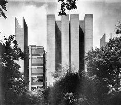 Richards Medical Laboratories, University of Pennsylvania, Philadelphia, Pennsylvania, 1957-60 (Louis Kahn)