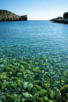 This is my Greece   Livadaki beach on Folegandros island, Cyclades