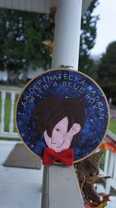 Doctor Who hoopla - NEEDLEWORK