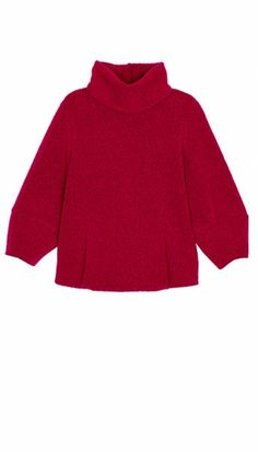 Cozy Boucle Cropped Sleeve Sweater