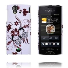 Valentine (Brown Flowers & Branches) Sony Ericsson Xperia Ray Cover