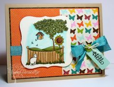 Created by Tammy Hershberger! There She Goes, Having A Bad Day, My Design, Stamps, Create, Garden, Life, Seals, Lawn And Garden