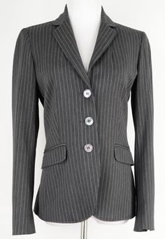 Vertigo Paris Pinstrip Suit Jacket Size S