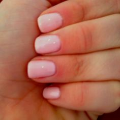 Pink smoothie :) gelish nail polish