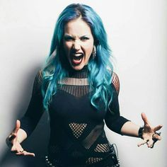 Alissa White-Gluz from Arch Enemy <3