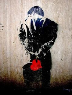 Claire street art paris Love is one of eternal subjects of art. The emotion is also explored in street art by street artists. Street Art Graffiti, Street Art Love, Amazing Street Art, Subject Of Art, Banksy Art, Bansky, Urbane Kunst, Arte Popular, Stencil Art