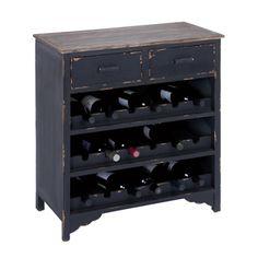 Wooden Wine Storage Cabinet