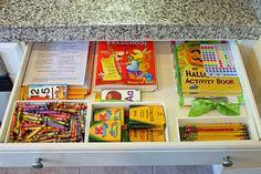 Kid's art supply organisation.