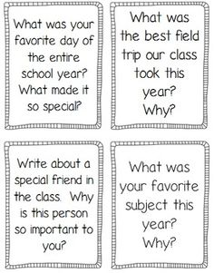 of the Year Activities and Printables Journal prompts, printables, and fun activities to keep kids engaged at the end of the year!Journal prompts, printables, and fun activities to keep kids engaged at the end of the year! Writing Prompts For Kids, Writing Lessons, Teaching Writing, Writing Activities, Creative Writing, Fun Activities, Writing Topics, Writing Ideas, 4th Grade Writing Prompts