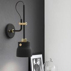 Get the home decor you need to brighten up your living spaces. Bedroom Lamps, Living Room Bedroom, Modern Bedroom, Led Wall Lamp, Nordic Interior, Bedside Lamp, Home Lighting, Lamp Light, Home And Living