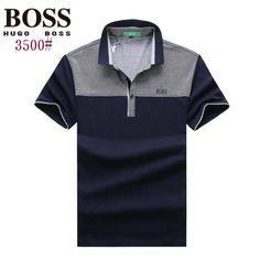 Hugo Boss polos t-shirts, short sleeve 100% cotton tops, brand shop #BOSTSH-701