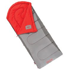 Coleman Dexter Point 50 Degree Sleeping Bag, Tall