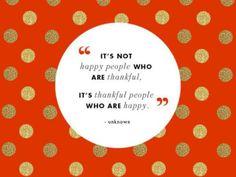 be thankful <3