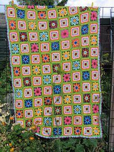 Phebe and Jane: Patroon gehaakte deken