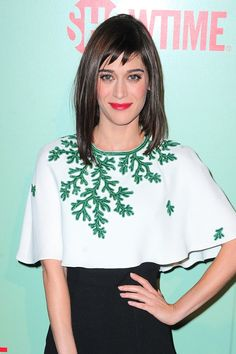 An Ode To Lizzy Caplan And Her Baby Bangs #Refinery29